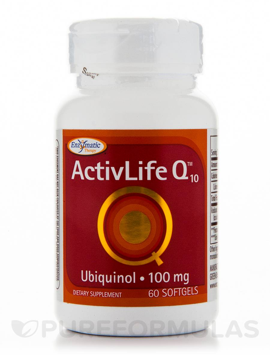 ActivLife Q10 Ubiquinol 100 mg - 60 Softgels