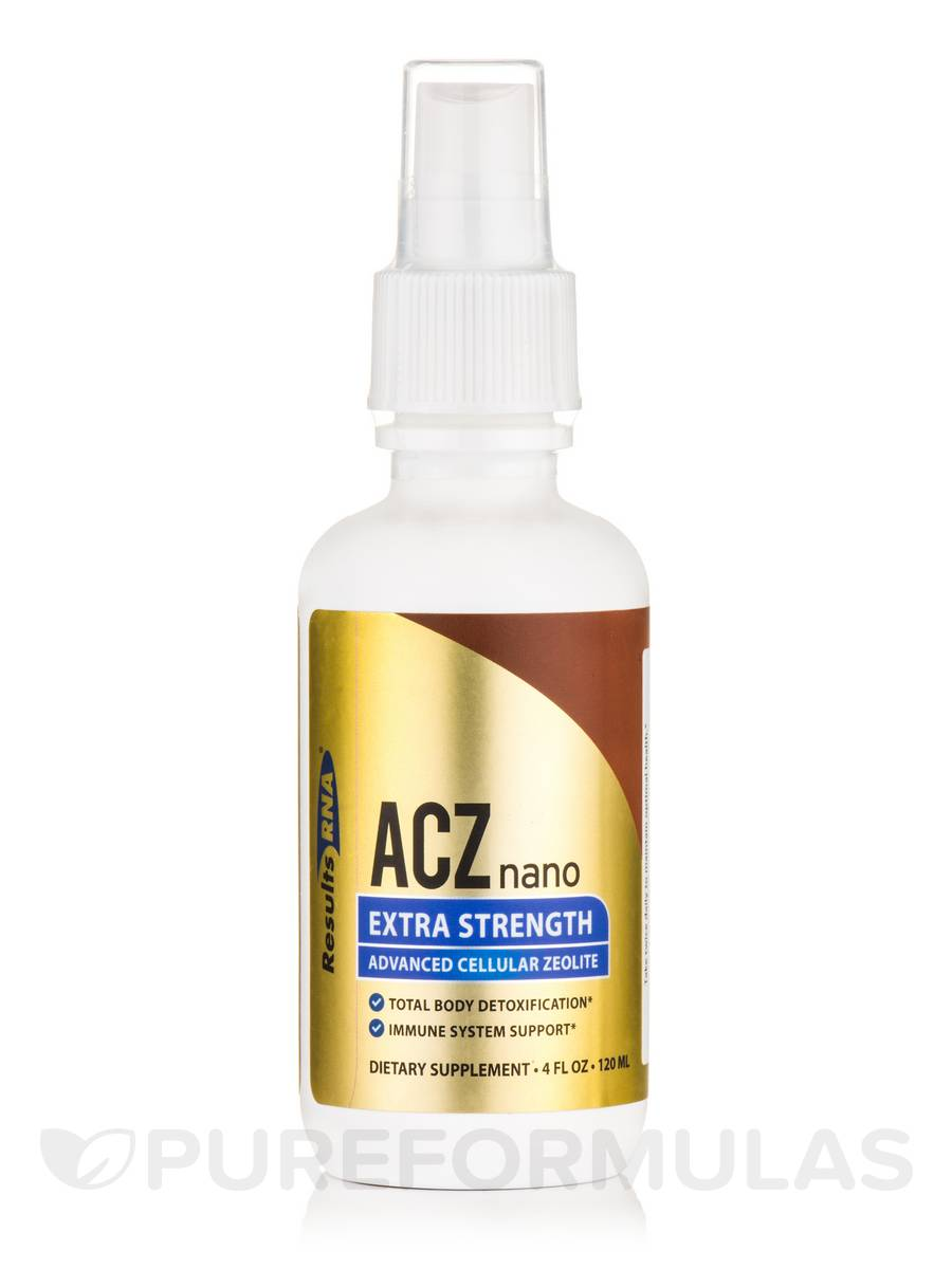 ACZ Nano Extra Strength - Advanced Cellular Zeolite - 4 fl. oz (120 ml)