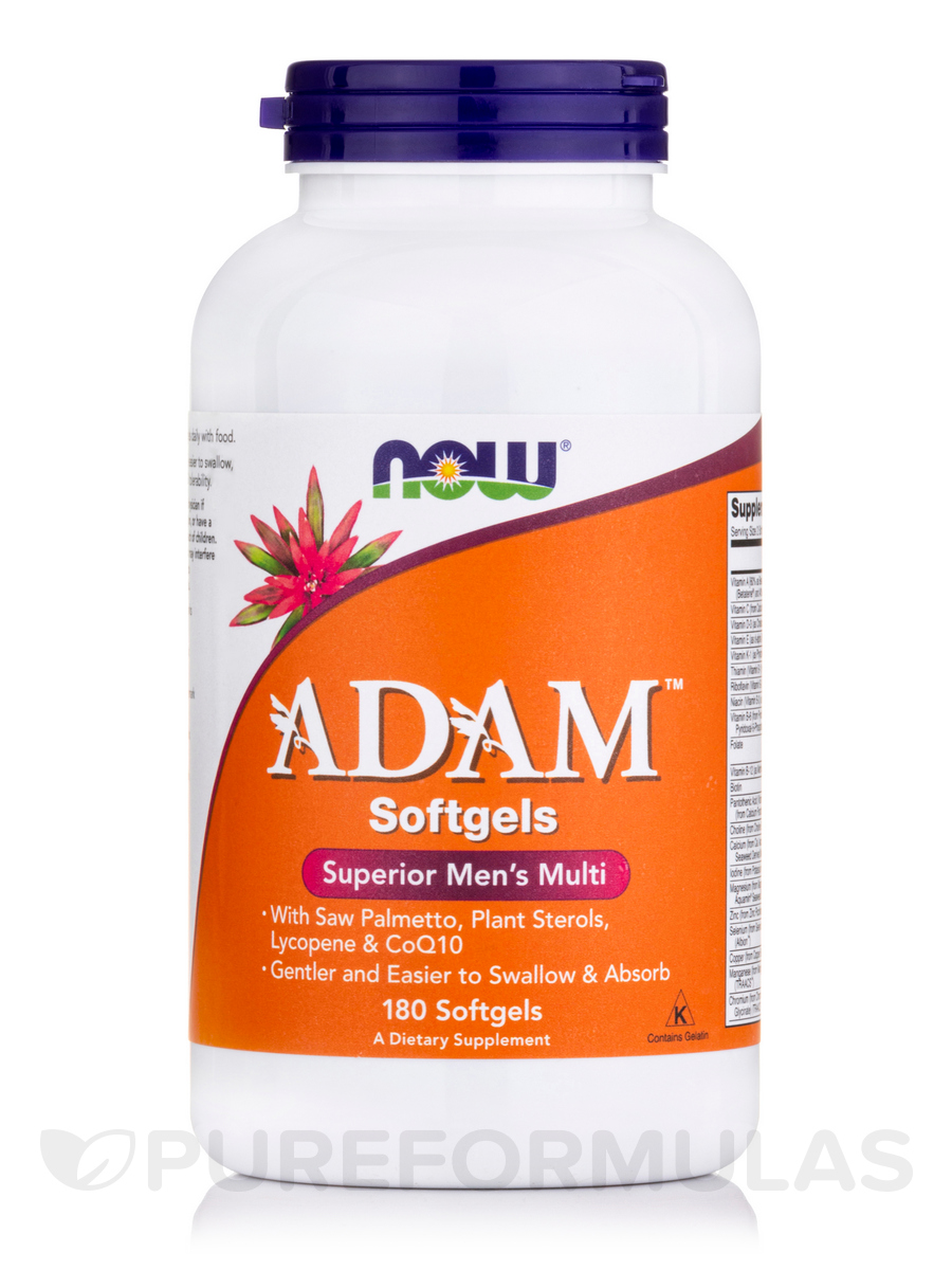 ADAM™ Superior Men's Multivitamin - 180 Softgels