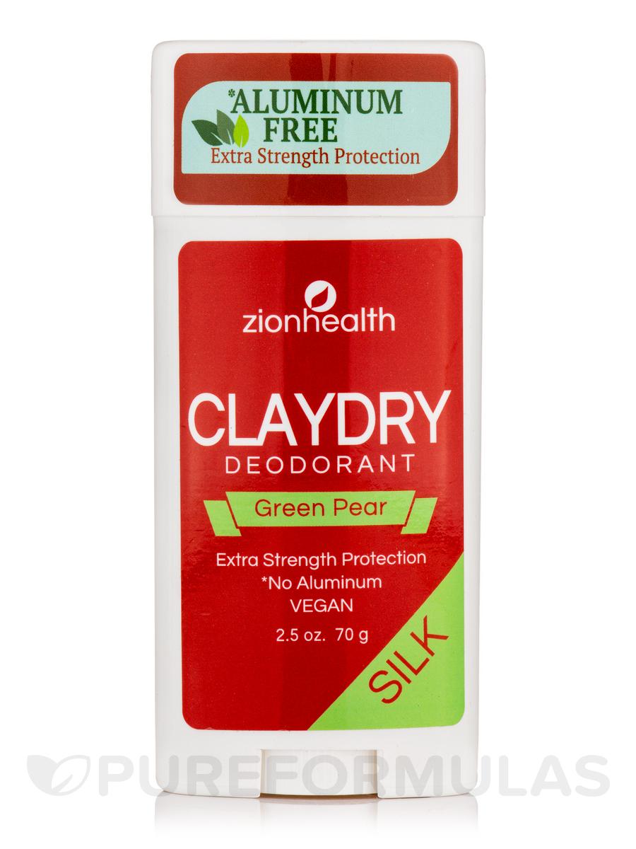 Clay Dry Bold Deodorant, Green Pear - 2.5 oz (70 Grams)