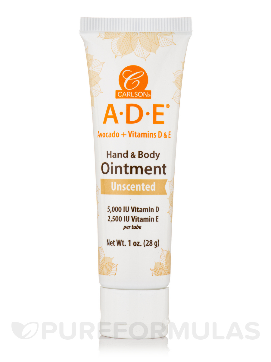 ADE Hand & Body Ointment, Unscented - 1 oz (28 Grams)