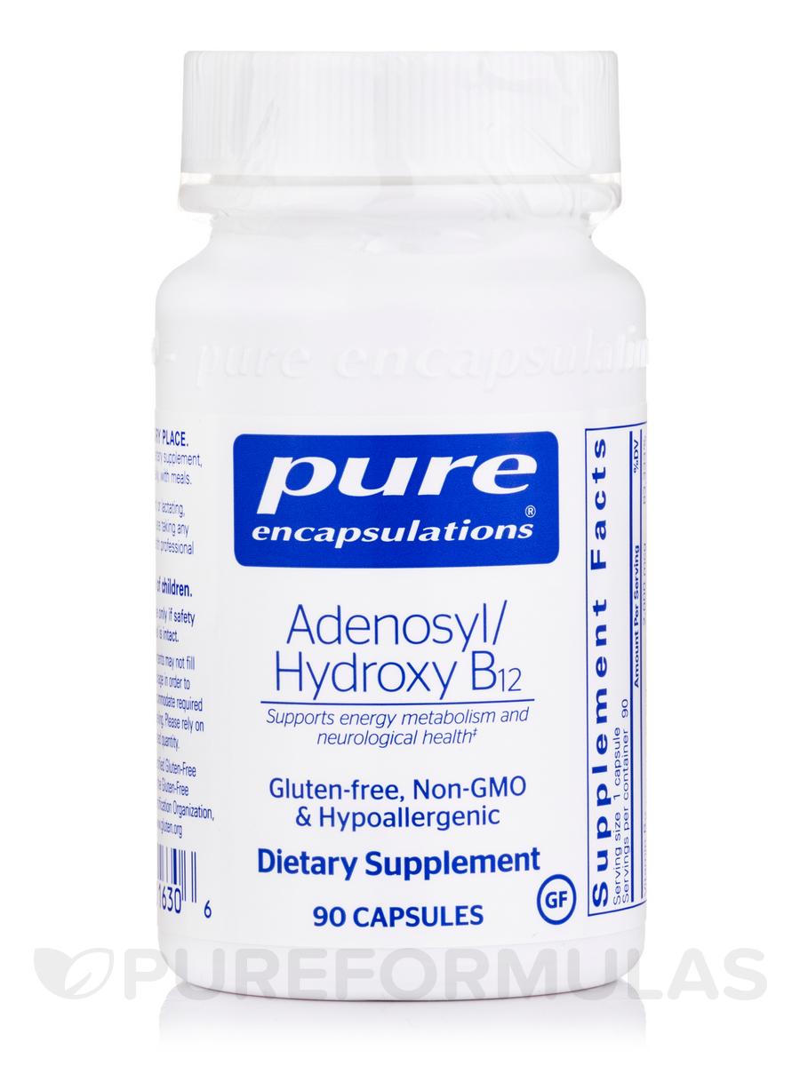 Adenosyl/Hydroxy B12 - 90 Capsules