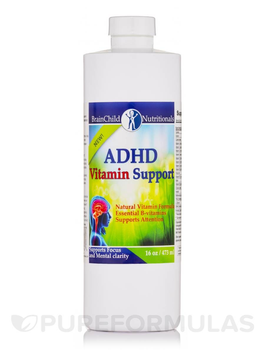 ADHD Vitamin Support (Unflavored) - 16 oz (473 ml)