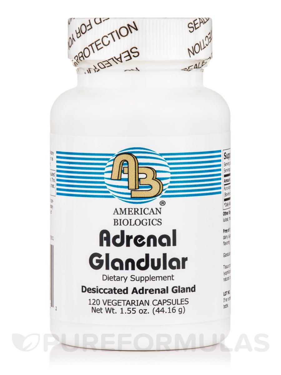 Adrenal Glandular - 120 Vegetarian Capsules