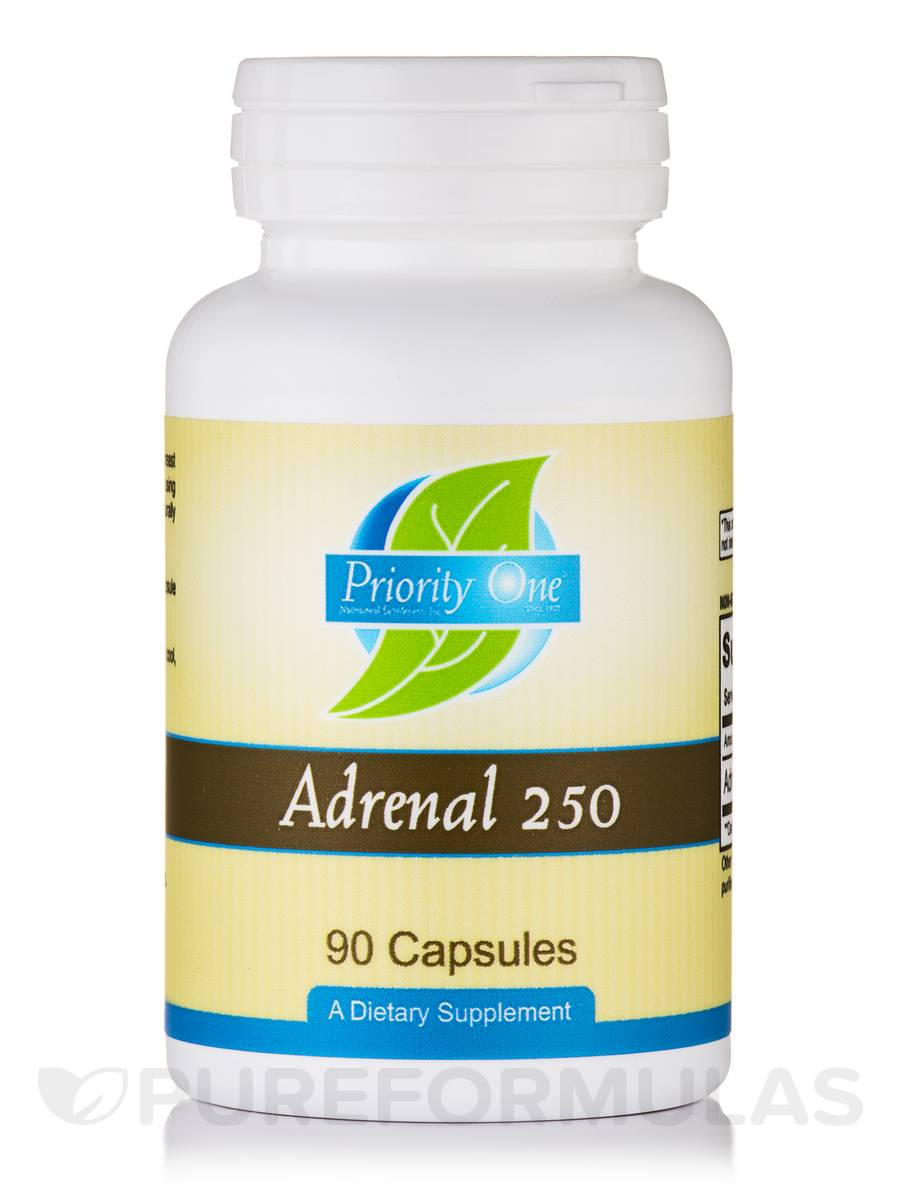 Adrenal 250 mg - 90 Capsules