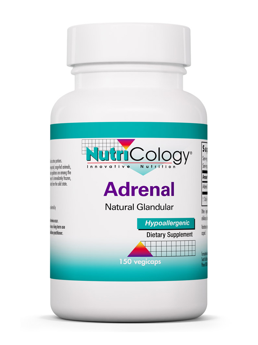 Adrenal Natural Glandular 100 mg - 150 Vegicaps