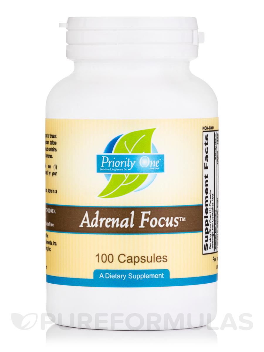 Adrenal Focus - 100 Capsules