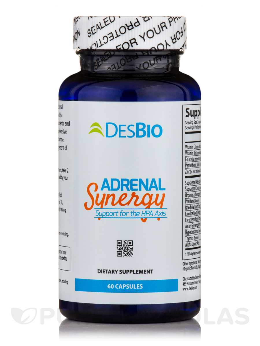 Adrenal Synergy - 60 Capsules