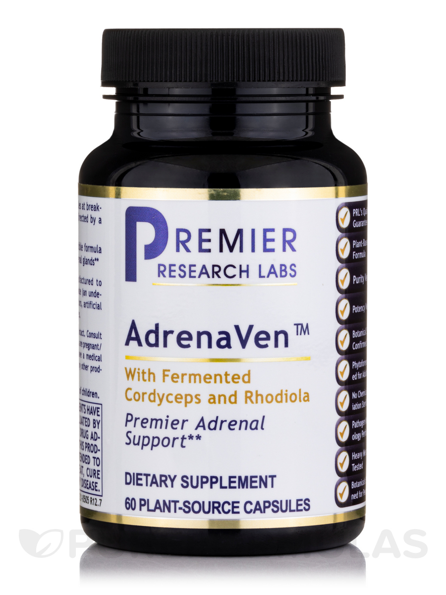 AdrenaVen™ (formerly Adrenal Complex) - 60 Vegetable Capsules