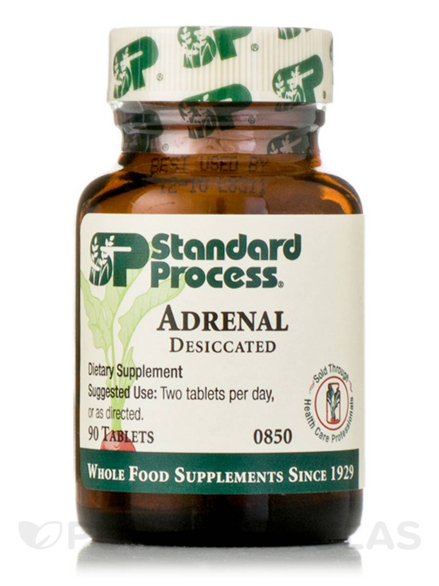 Adrenal Desiccated - 90 Tablets