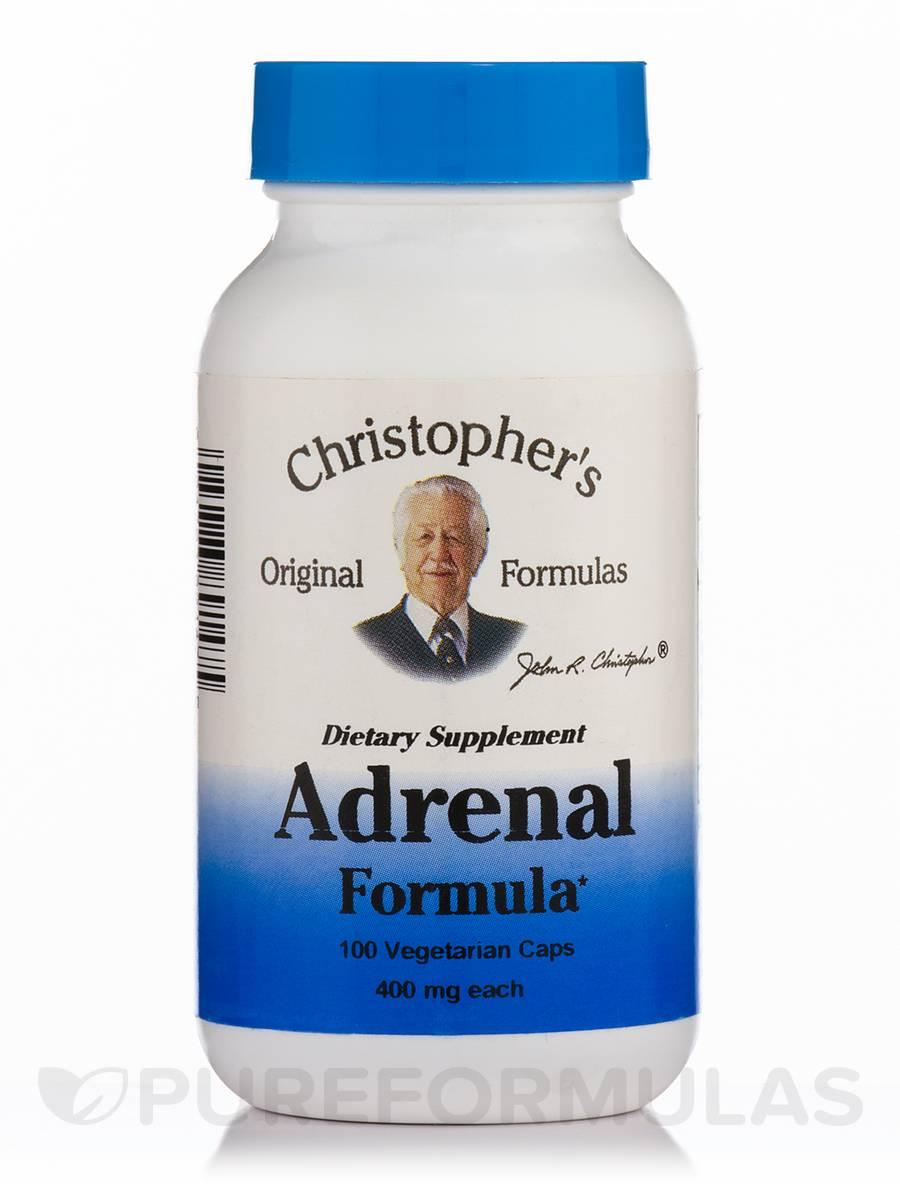 Adrenal Formula - 100 Vegetarian Capsules