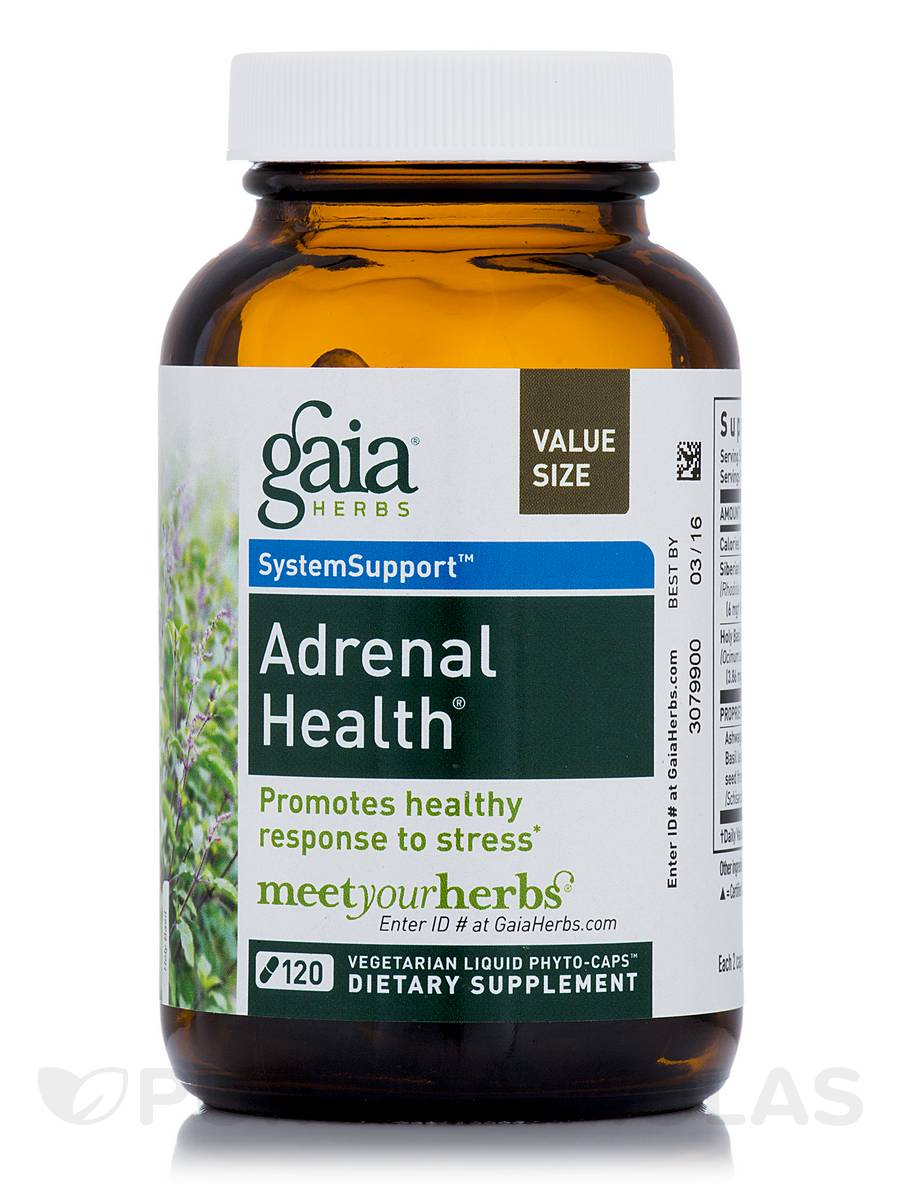 Adrenal Health - 120 Vegetarian Liquid Phyto-Caps®