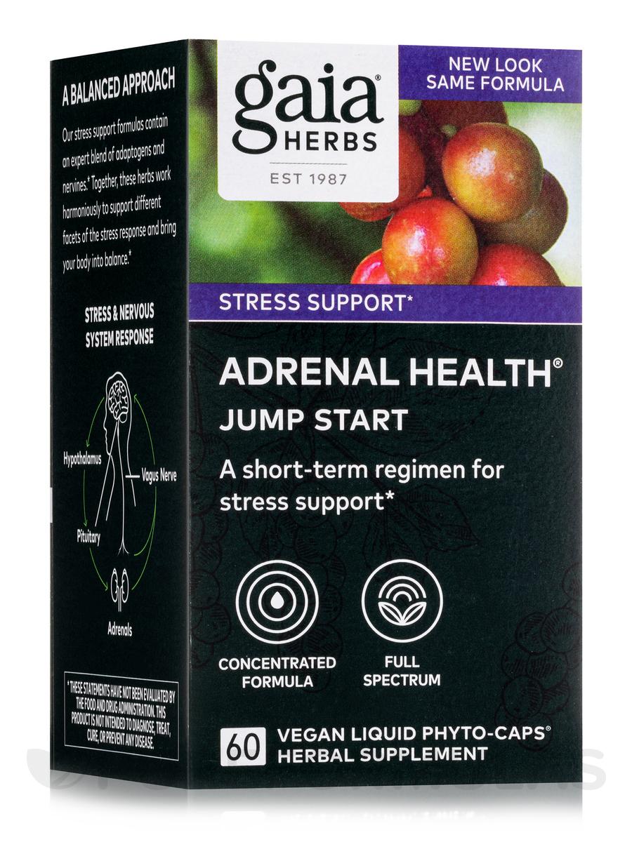 Adrenal Health Jump Start - 60 Vegan Liquid Phyto-Caps®