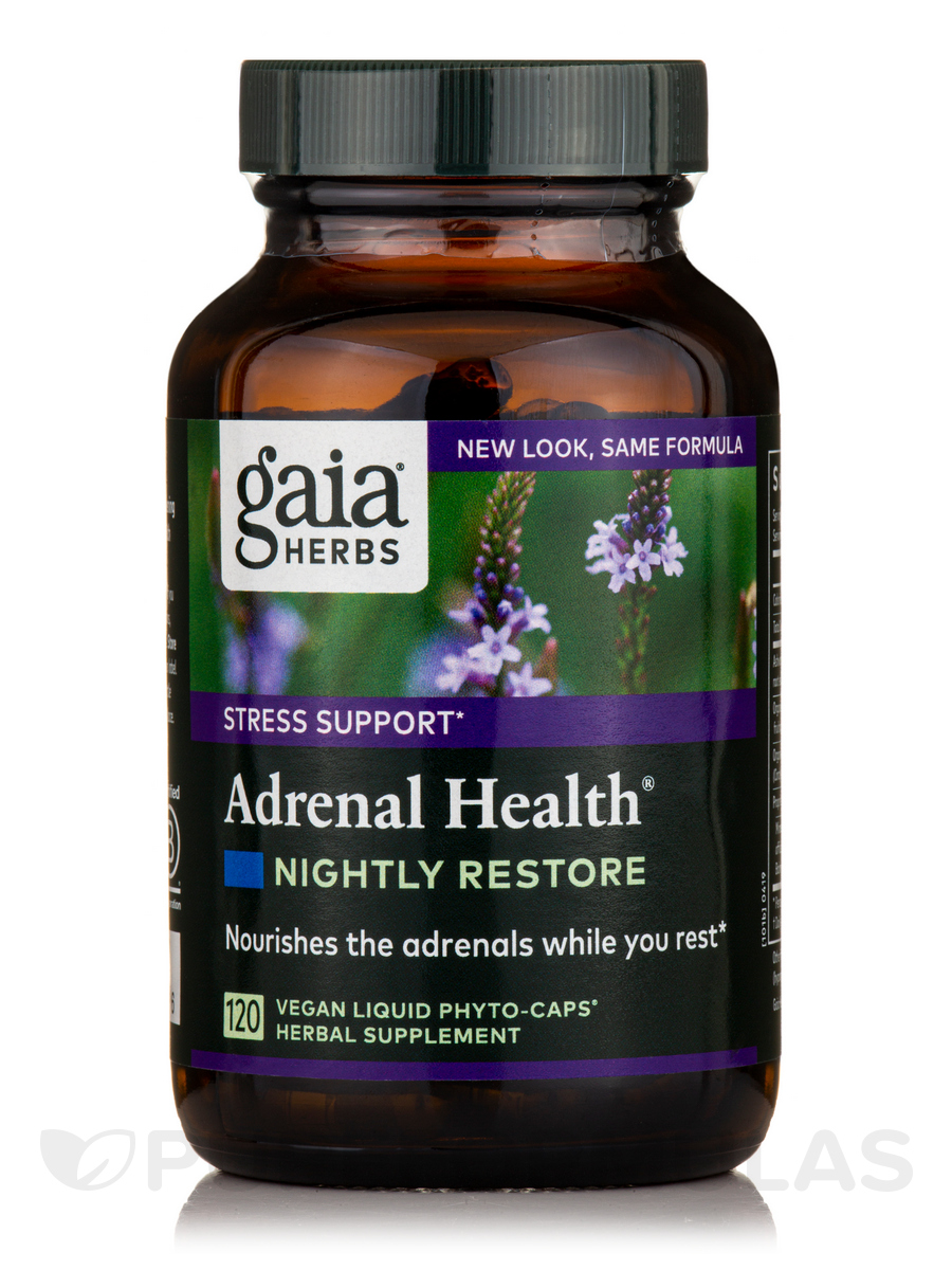 Adrenal Health Nightly Restore - 120 Vegan Liquid Phyto-Caps