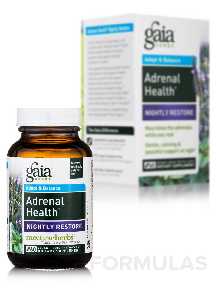 Adrenal Health Nightly Restore - 60 Vegan Liquid Phyto-Caps®