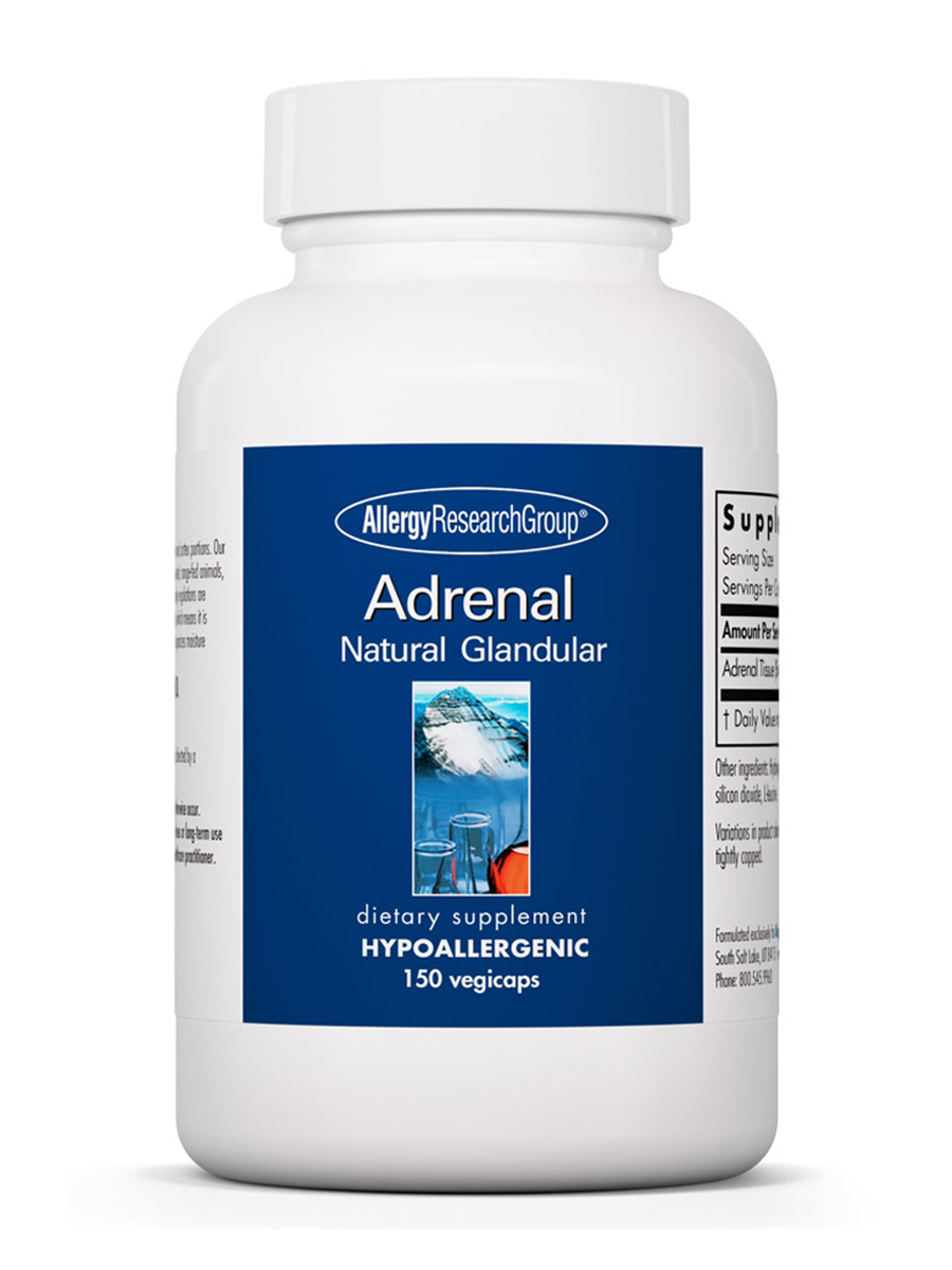 Adrenal Natural Glandular - 150 Vegicaps