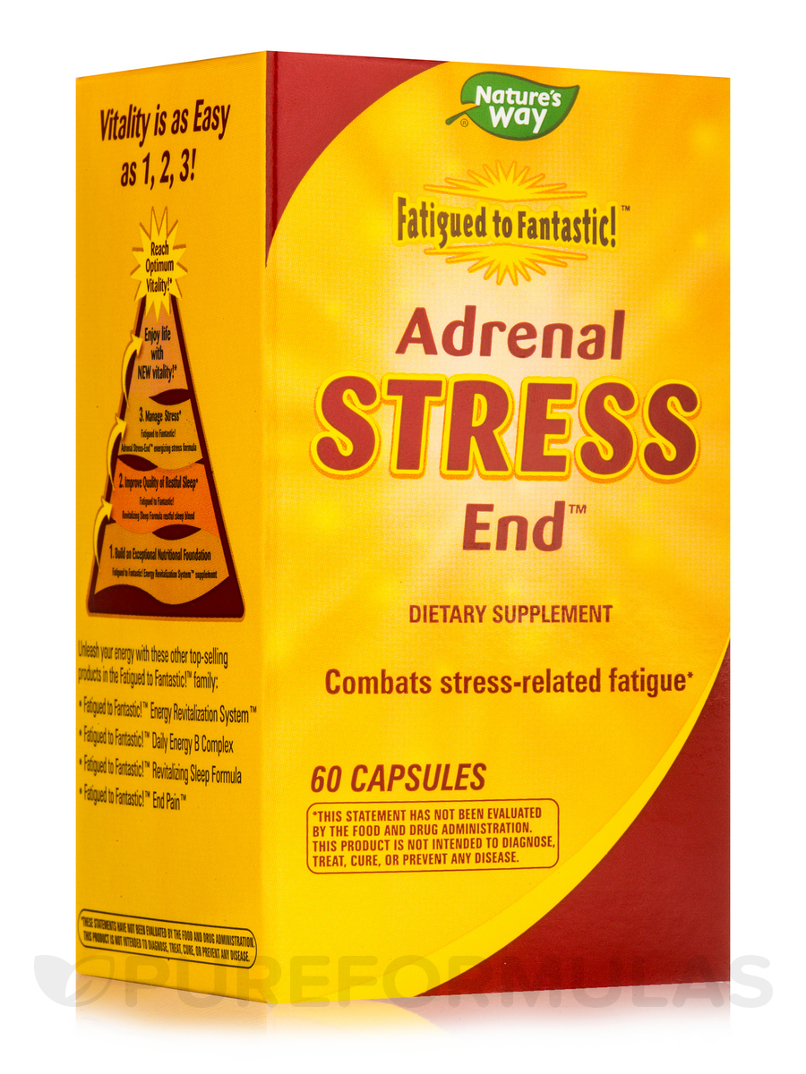 Fatigued to Fantastic! Adrenal Stress End - 60 Capsules
