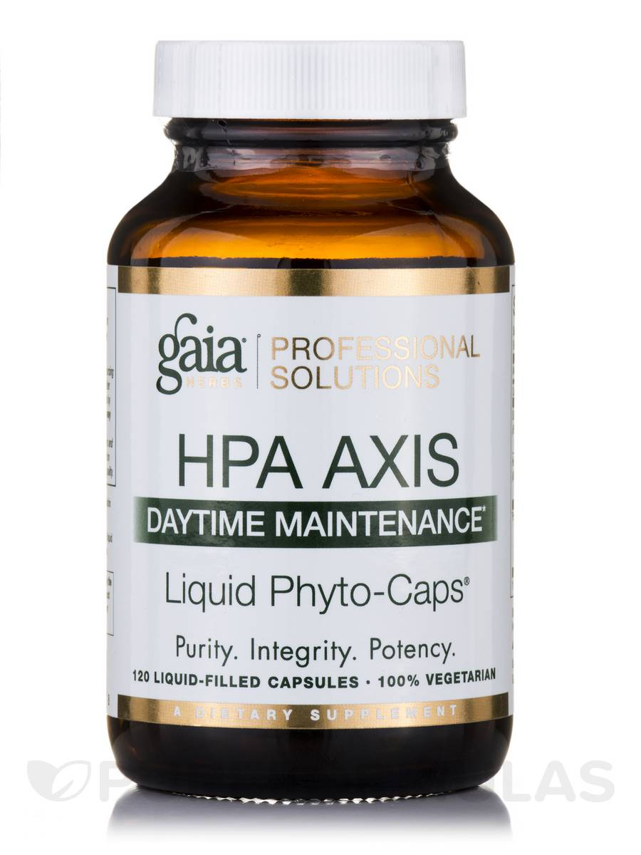 HPA Axis: Daytime Maintenance - 120 Vegetarian Liquid-Filled Capsules