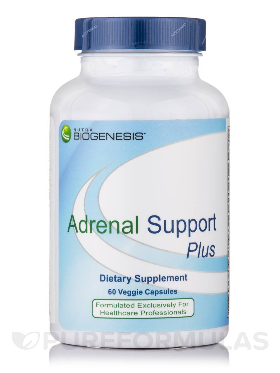 Adrenal Support Plus - 60 Veggie Capsules