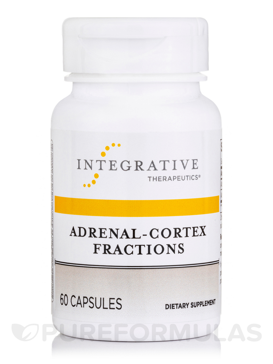 Adrenal-Cortex Fractions - 60 Capsules