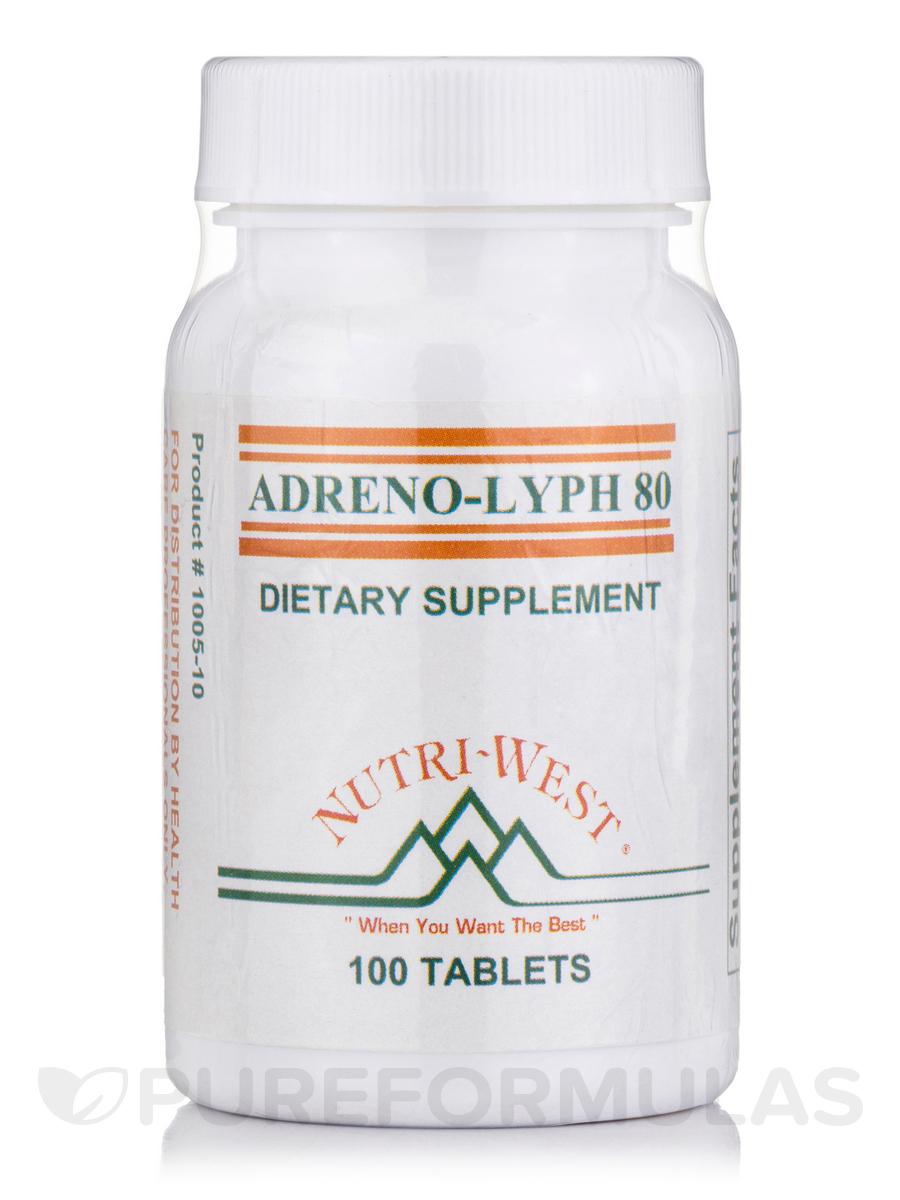 Adreno-Lyph-80 - 100 Tablets