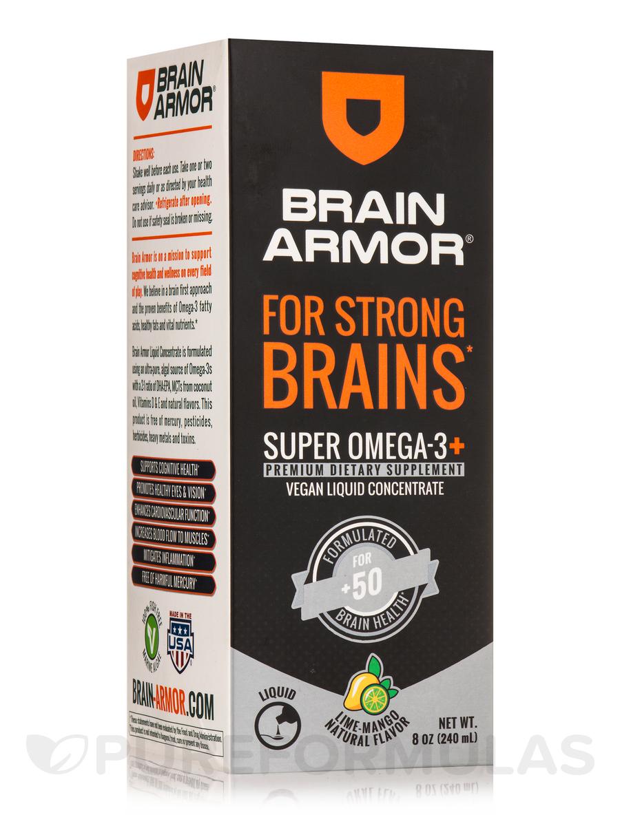 Adult 50+ Brain Nutrient - Vegan Liquid Concentrate, Lime-Mango Flavor - 8 oz (240 ml)