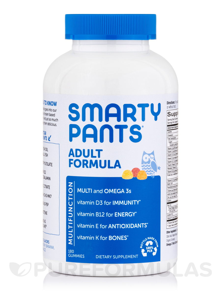 Adult Complete Multivitamin (Assorted Flavors) - 180 Gummies