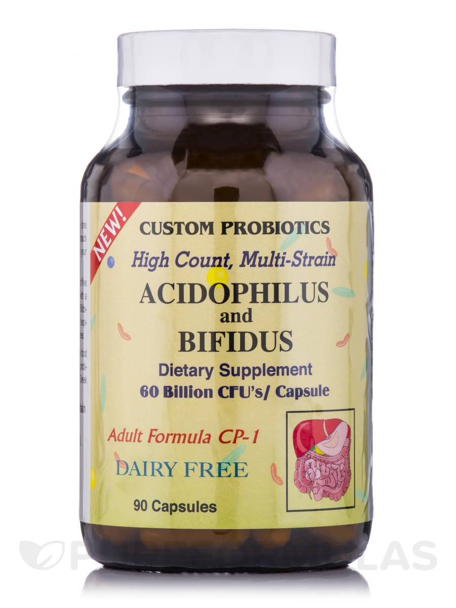 Adult Formula CP-1 Acidophilus and Bifidus - 90 Capsules