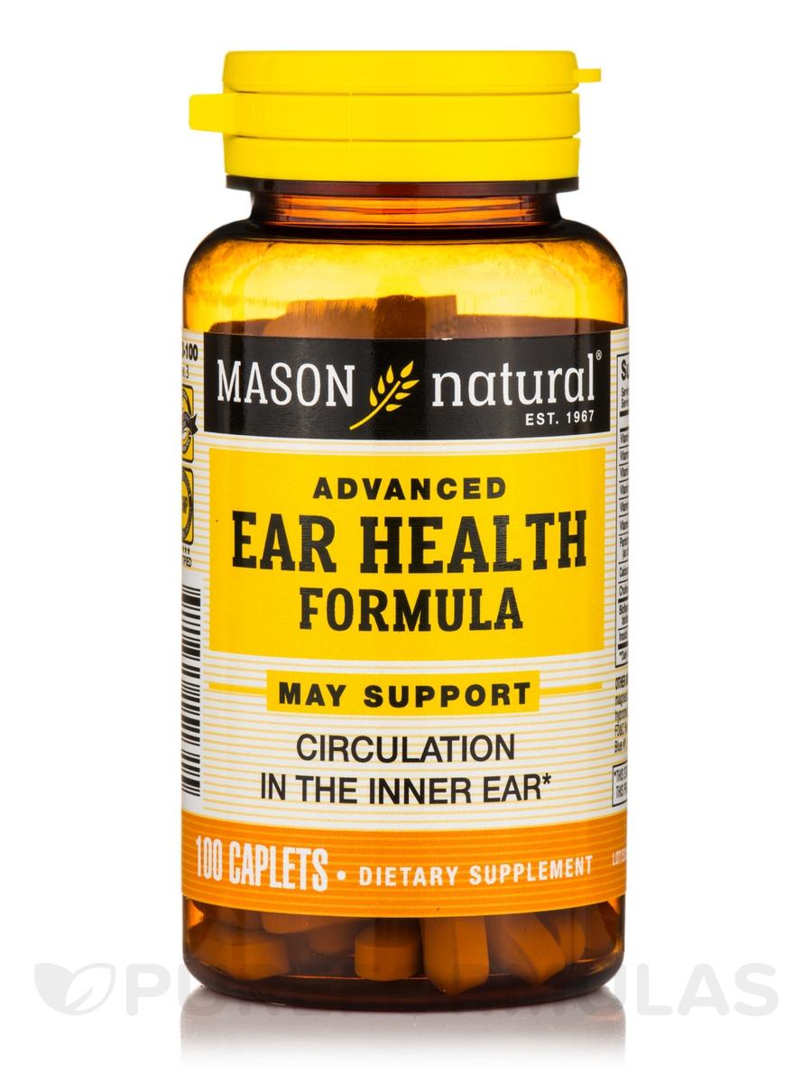 Advanced Ear Health Formula - 100 Caplets