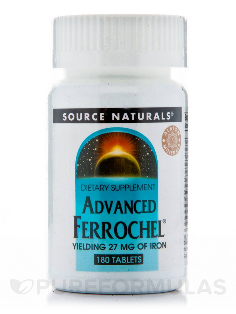 Advanced Ferrochel 27 mg - 180 Tablets