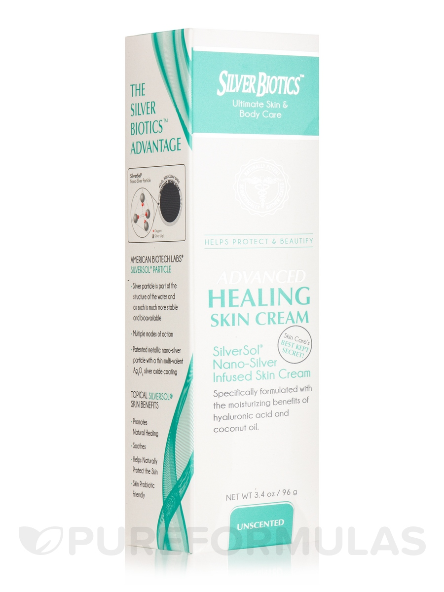 Advanced Healing Skin Cream, Unscented - 3.4 oz (96 Grams)