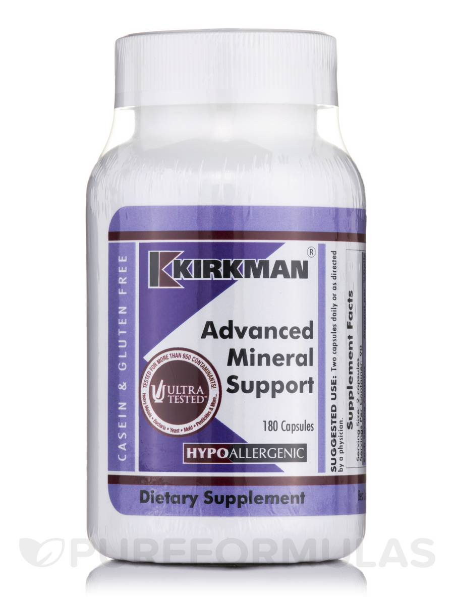 Advanced Mineral Support -Hypoallergenic - 180 Capsules
