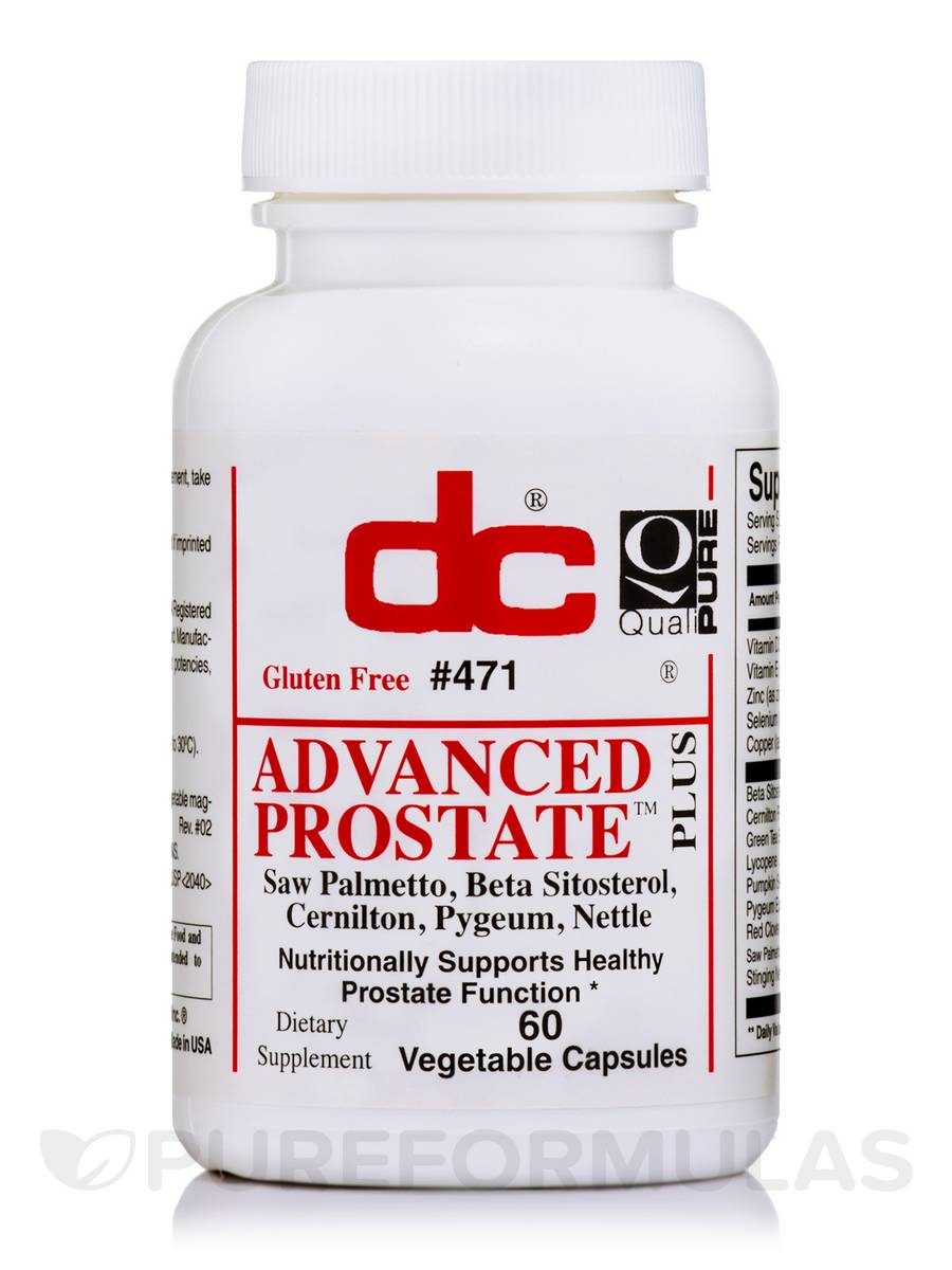 Advanced Prostate Plus - 60 Vegetable Capsules