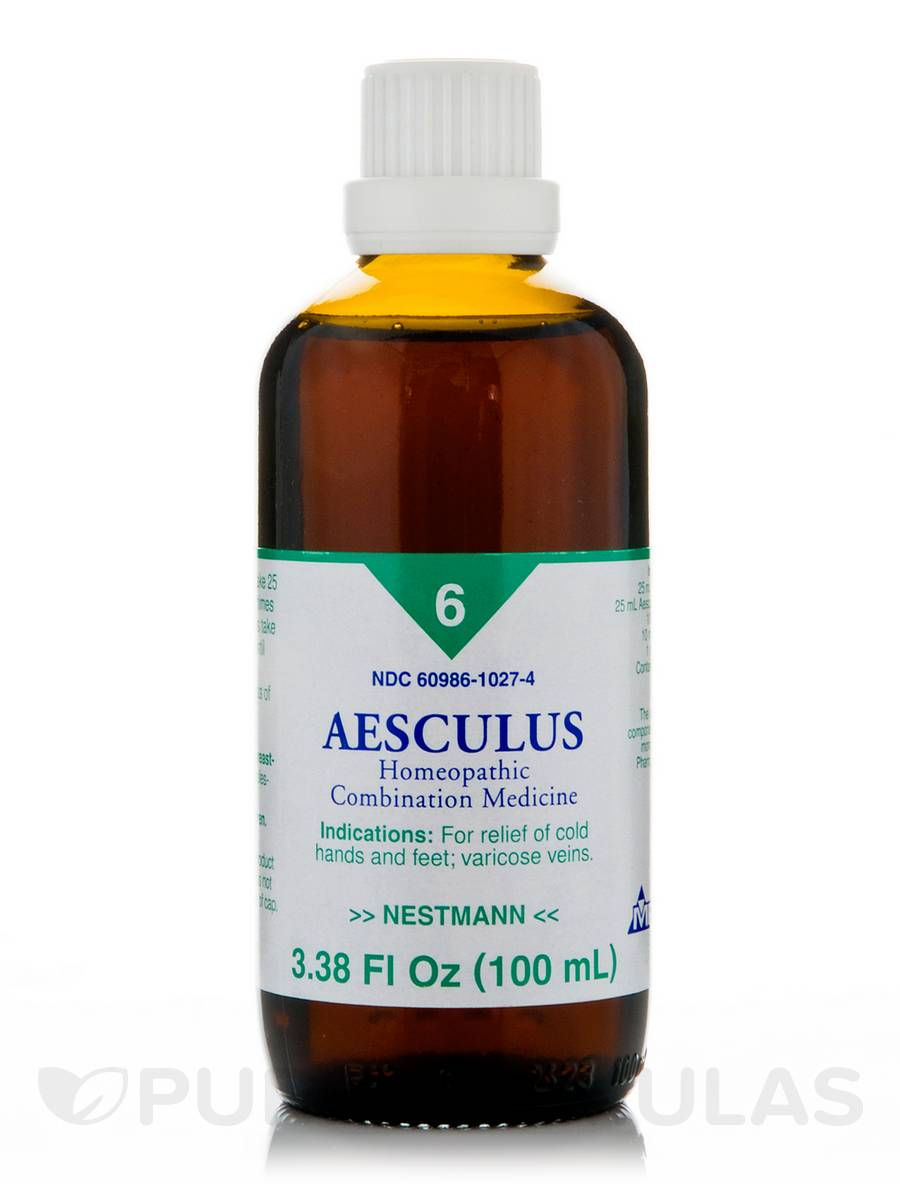 Aesculus homeopathic liquid - 3.38 fl. oz (100 ml)