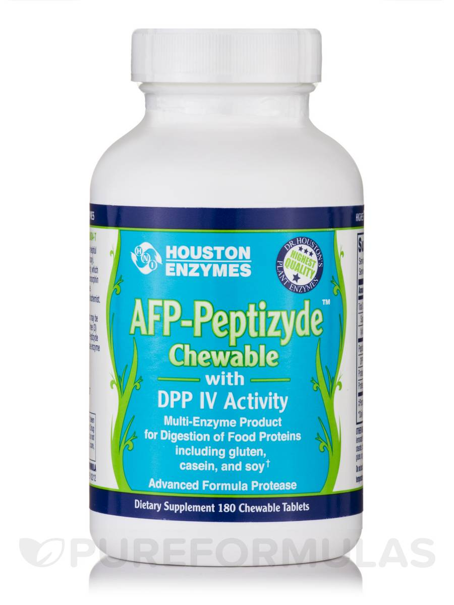 AFP Peptizyde with DPP IV Activity - 180 Chewable Tablets