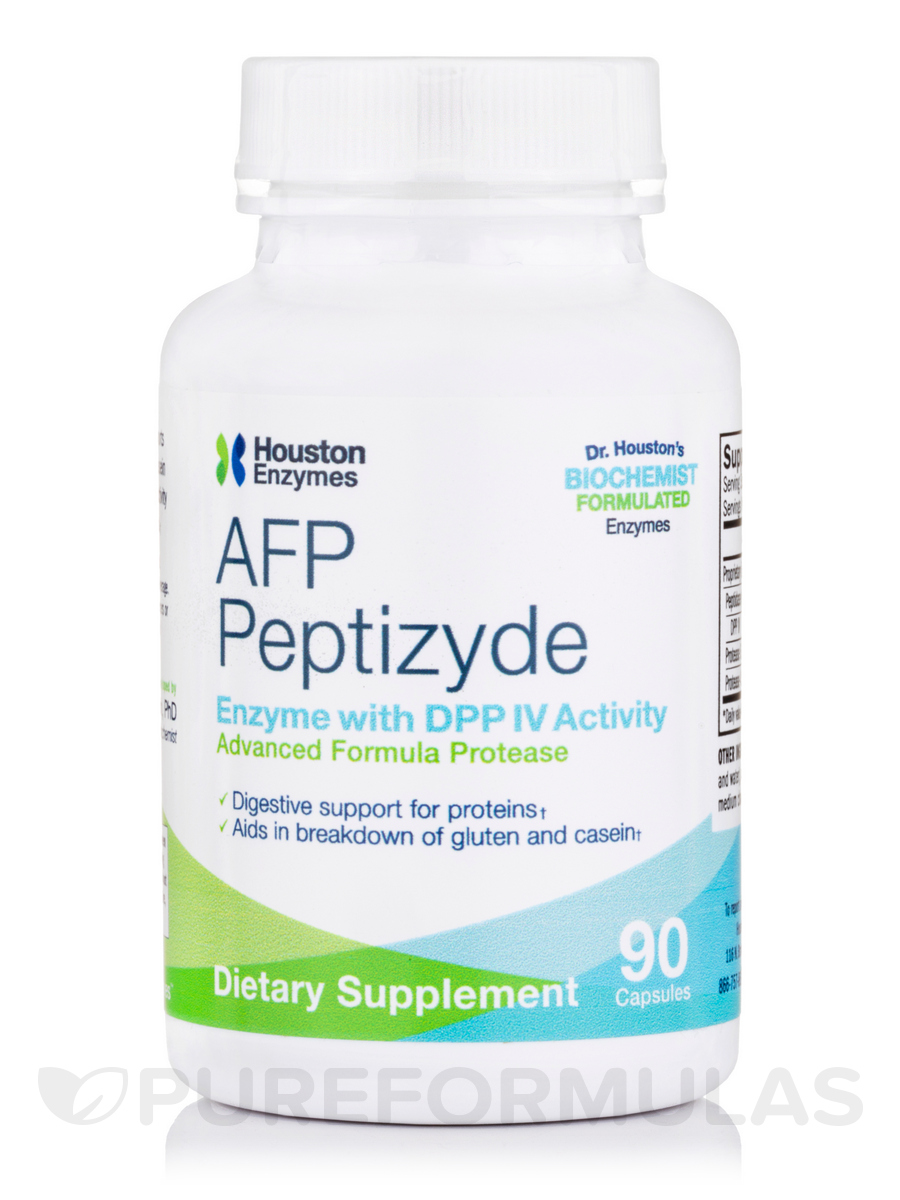 AFP Peptizyde with DPP IV Activity - 90 Capsules