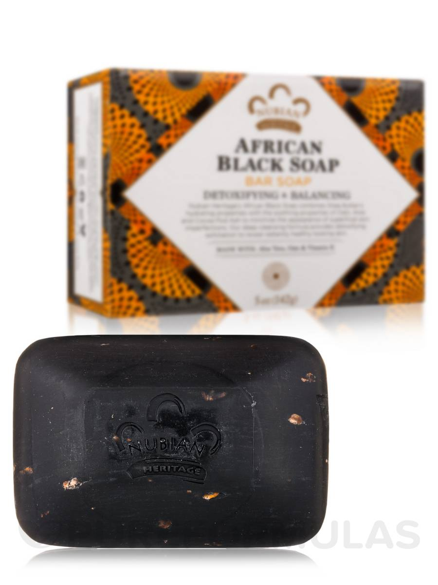African Black Bar Soap - 5 oz (142 Grams)