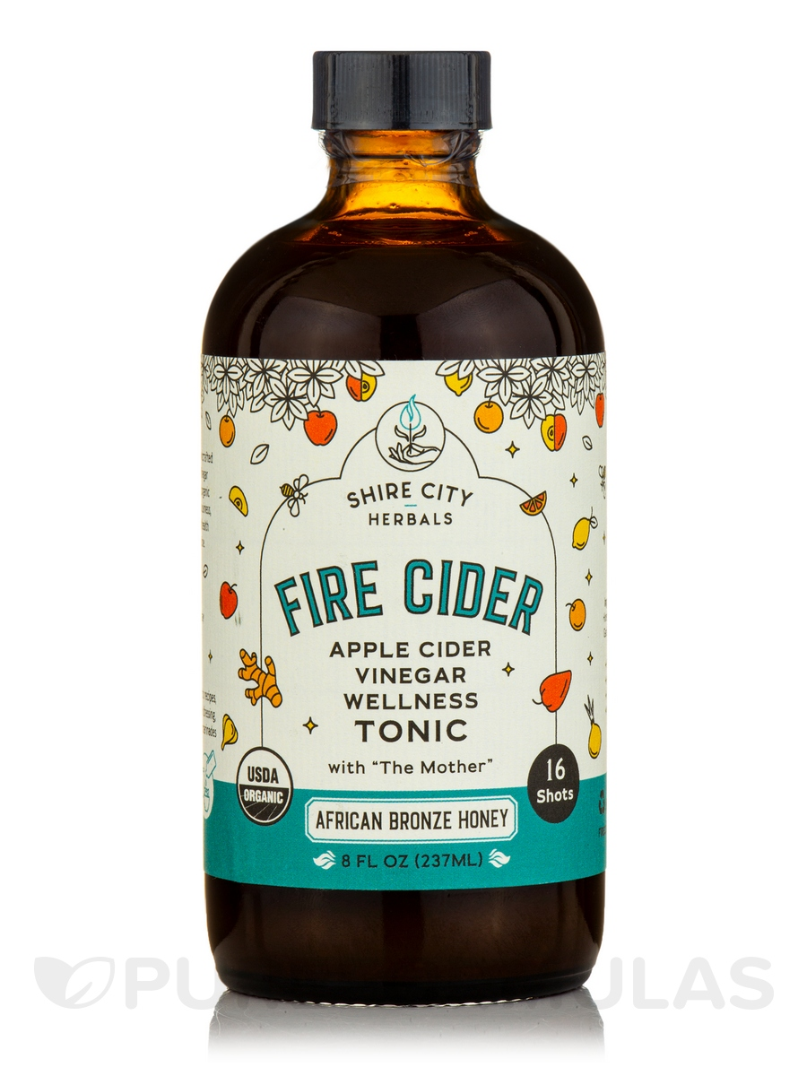 African Bronze - Apple Cider Vinegar & Honey Tonic - 8 fl. oz (237 ml)