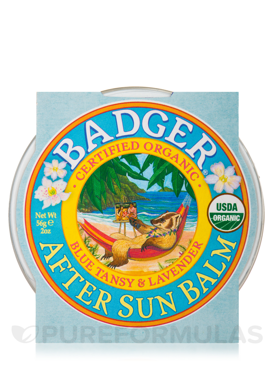 After Sun Balm, Blue Tansy & Lavender - 2 oz (56 Grams)