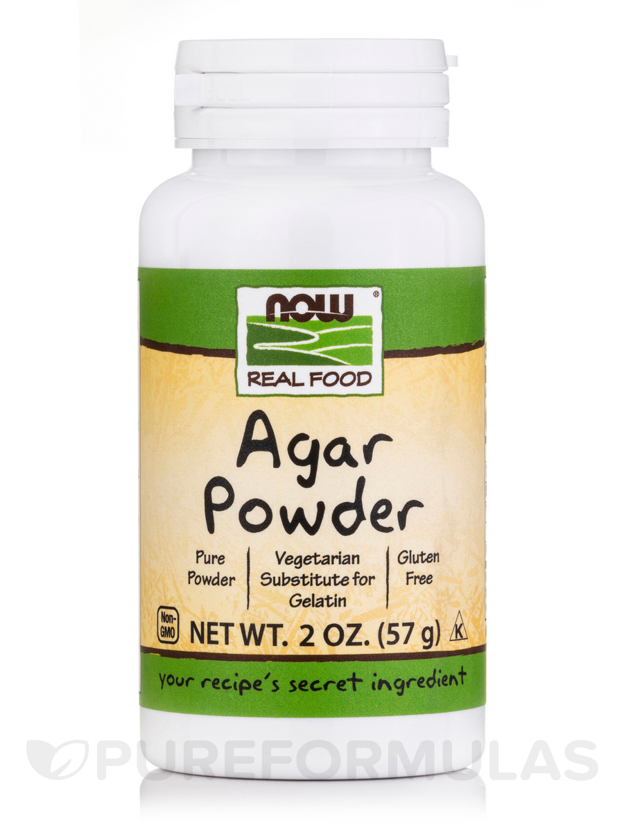 NOW® Real Food - Agar Powder - 2 oz (57 Grams)