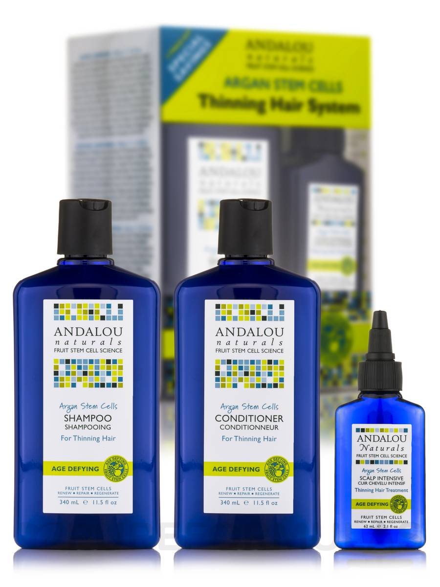 Age Defying Thinning Hair Treatment System - 3 Pieces