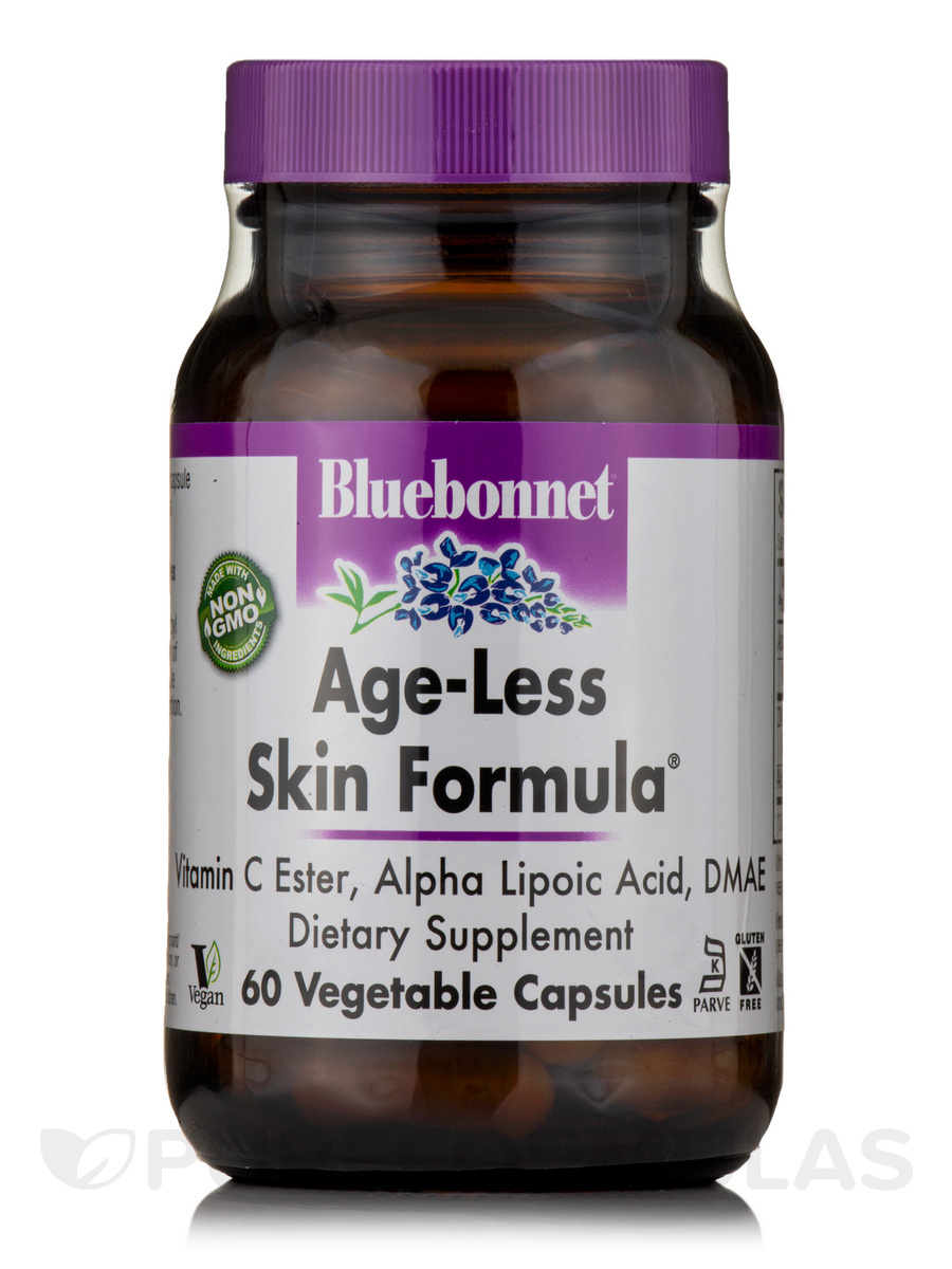 Age-Less Skin Formula® - 60 Vegetable Capsules