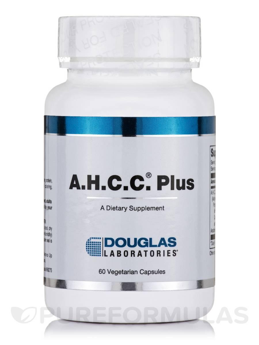 A.H.C.C. Plus - 60 Vegetarian Capsules