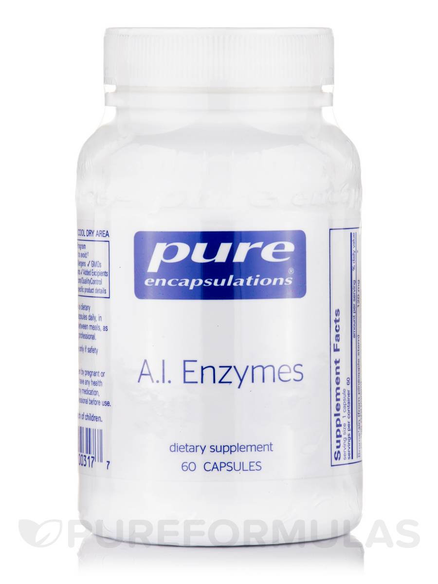 A.I. Enzymes - 60 Capsules
