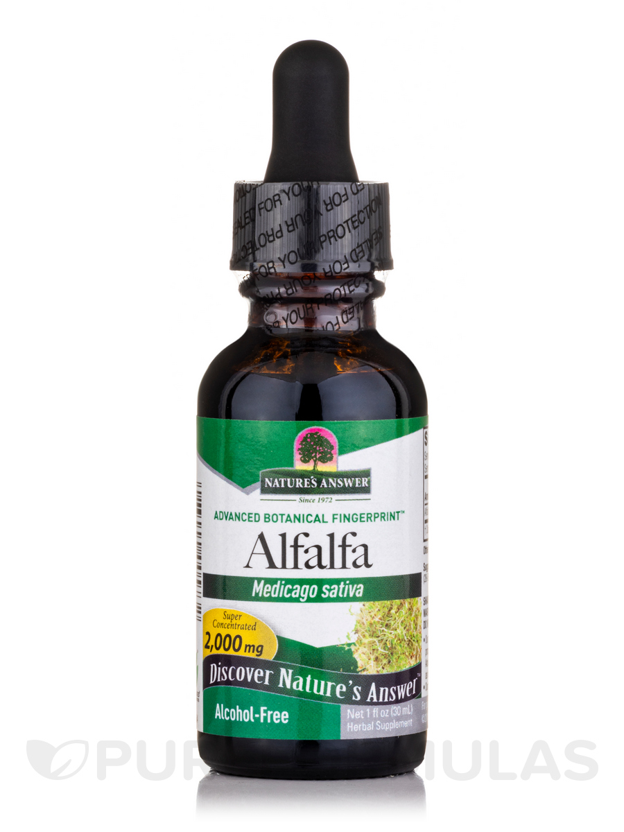 Alfalfa Extract (Alcohol Free) - 1 fl. oz (30 ml)