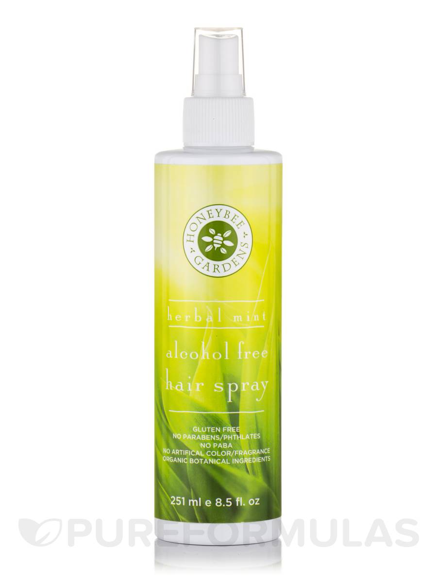 Alcohol Free Hair Spray, Herbal Mint - 8.5 fl. oz (251 ml)