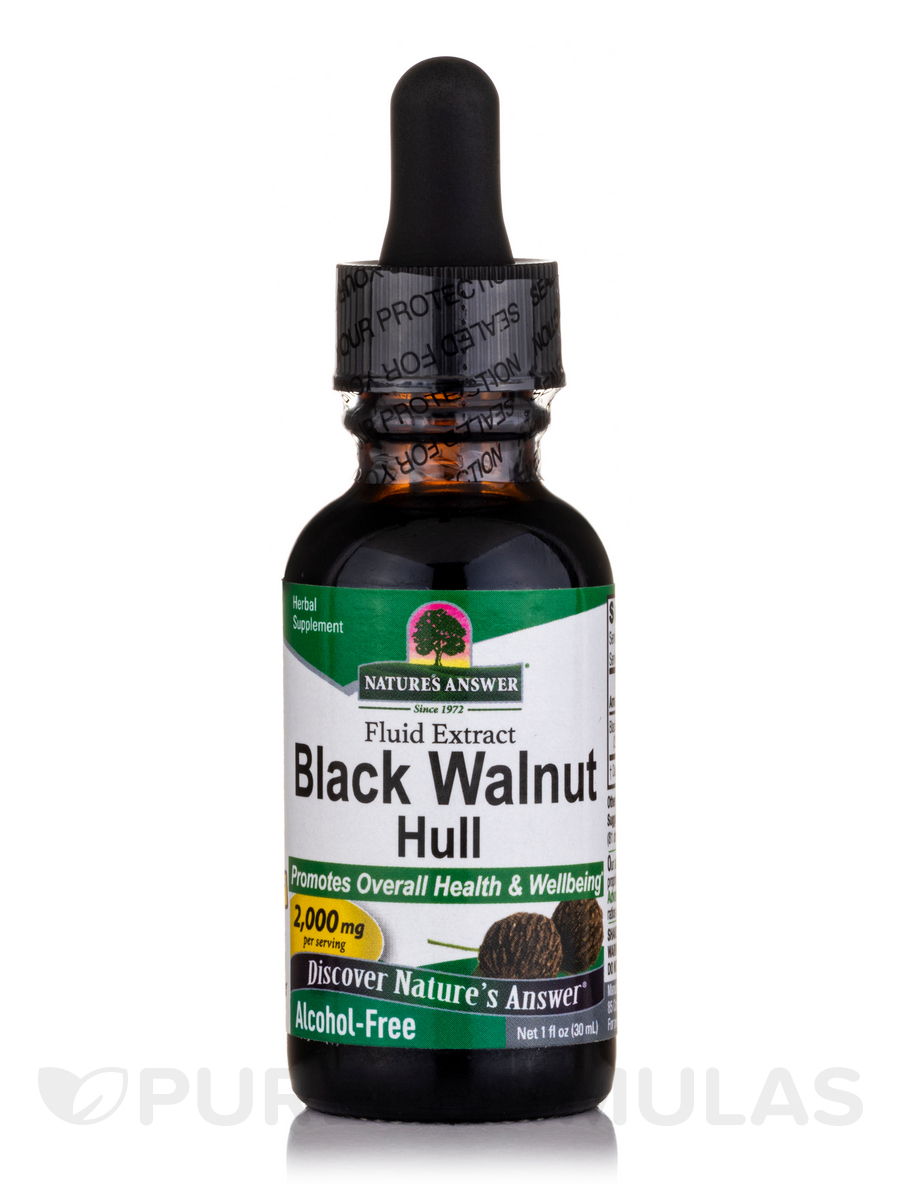 Black Walnut Extract (Alcohol-Free) - 1 fl. oz (30 ml)
