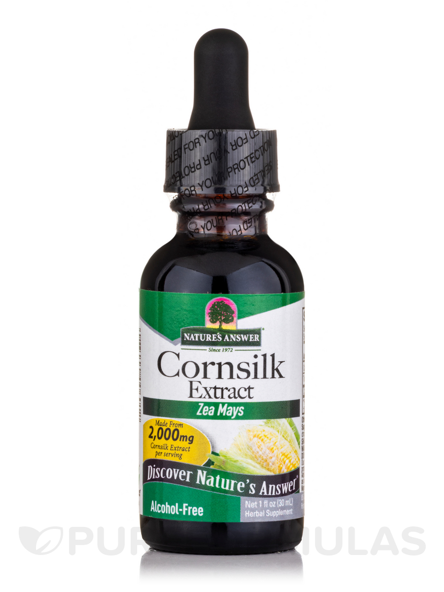 Cornsilk Extract (Alcohol-Free) - 1 fl. oz (30 ml)