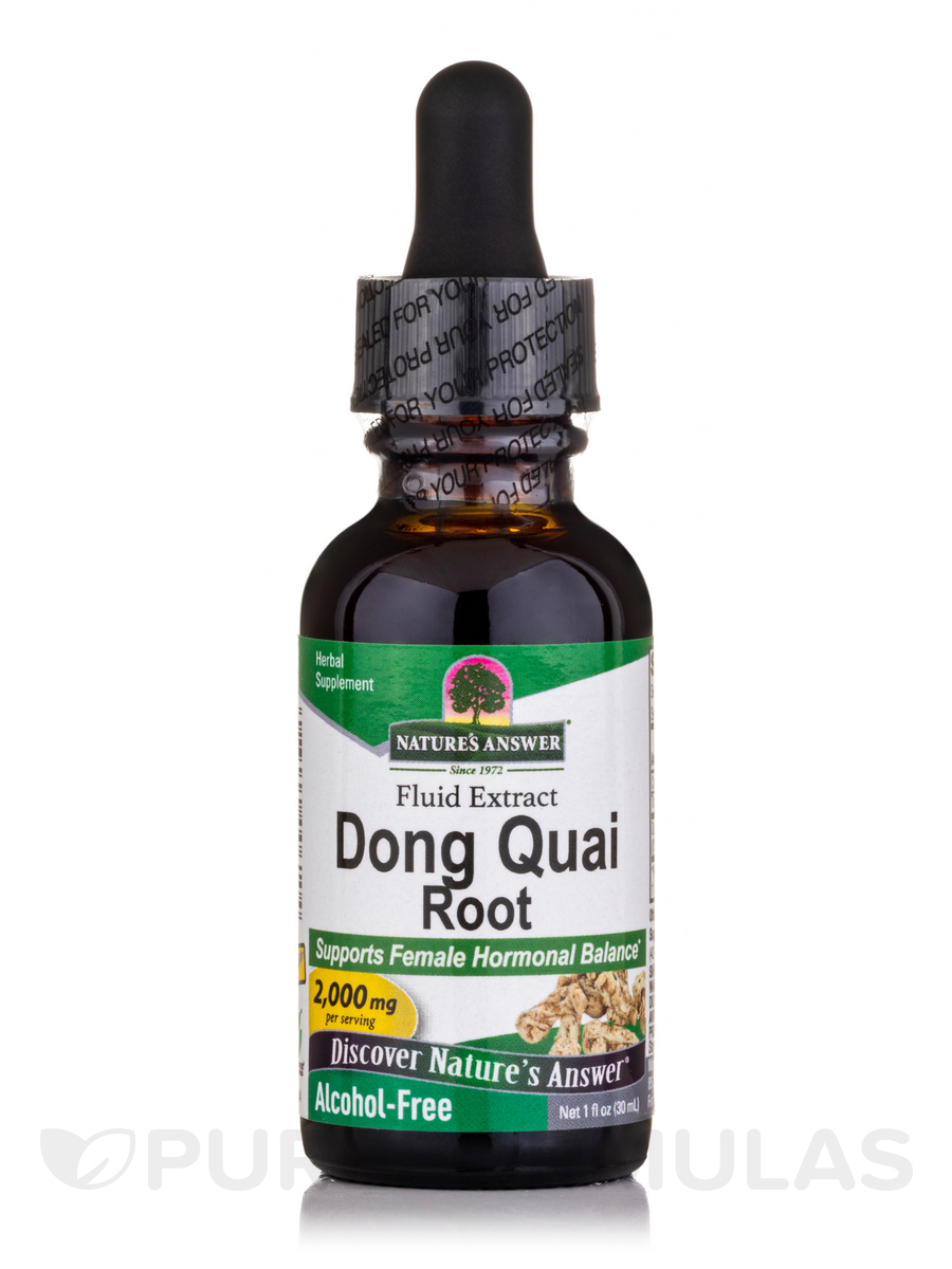 Dong Quai Root Extract (Alcohol-Free) - 1 fl. oz (30 ml)