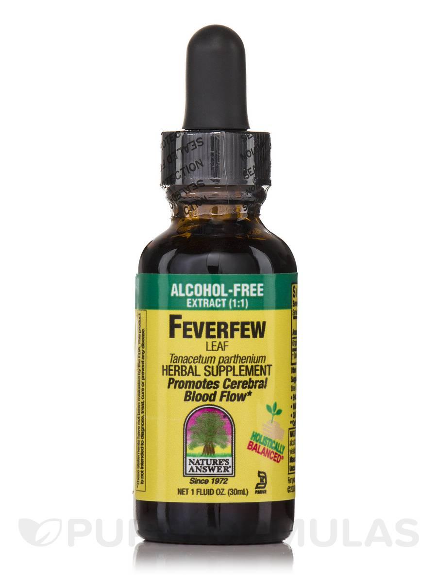 Feverfew Leaf Extract (Alcohol-Free) - 1 fl. oz (30 ml)